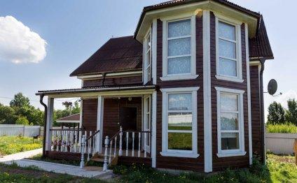 Деревянный дом Добрыня Никитич