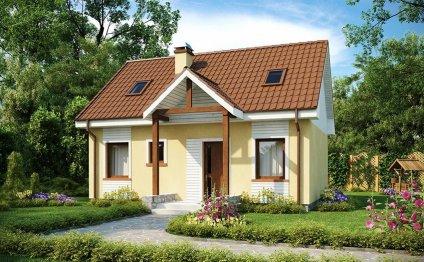 Каркасные дома для дачи дешево