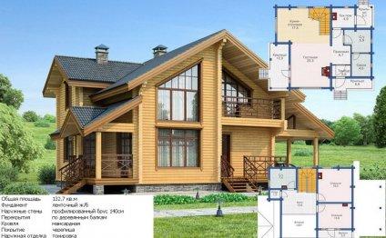 Дом в скандинавском стиле 132